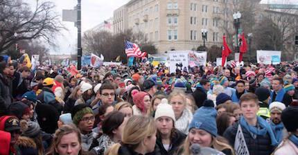 El movimiento pro vida ha crecido en fuerza en los últimos años en EEUU. /  Students for Life, FB