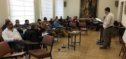 Un momento del encuentro celebrado en Valladolid.