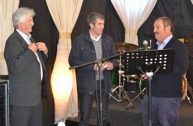 Fernando Clavijo, presidente de Canarias, en el desayuno nacional de oración. / Rosy Díaz,fernando clavijo oracion canarias