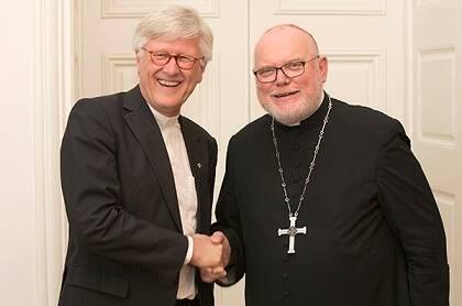 El obispo protestante Heinrich Bedford-Strohm y el cardenal católico Reinhard Marx promueven 2017 como un año para el ecumenismo y la unidad en Alemania.