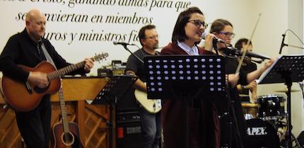 El grupo Hatikan, en directo. / D. Hofkamp