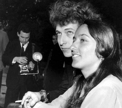 El cantate con Joan Báez.