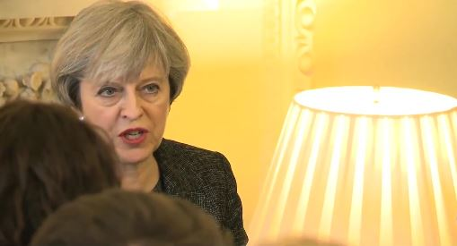 Theresa May, primera ministra británica. / Gov.uk,