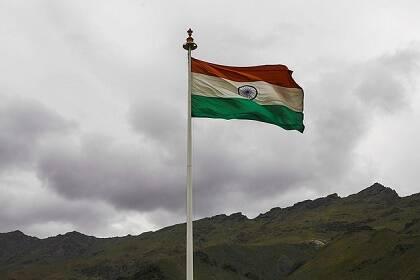 La bandera nacional de India. /Flickr (CC)