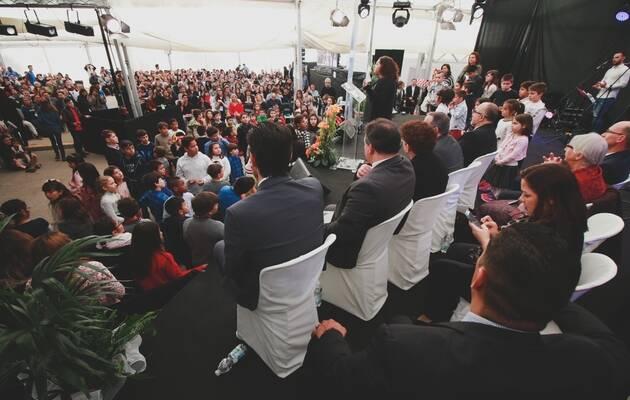 Todas las generaciones en un momento de FADE 2017 | FADElive (*),FADE 2017, Asambleas de Dios España