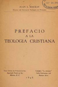 Teología del Camino de Juan Mackay