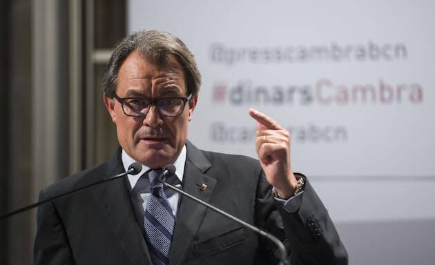 Artur Mas, durante una conferencia en 2015. / Wikipedia,artur mas