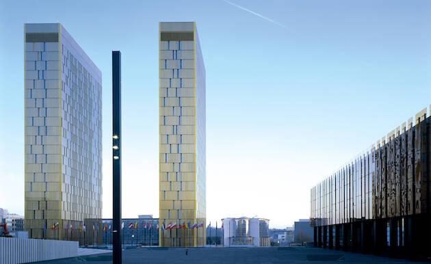 El Tribunal Europeo de Justicia de la Unión Europea. / G. Fessy, CJUE,ue tribunal