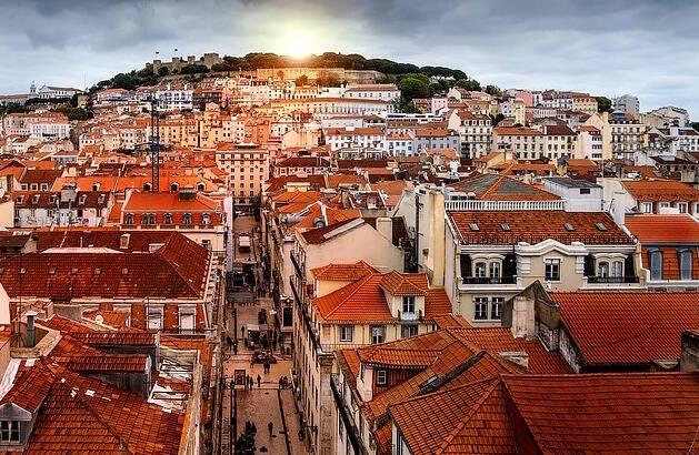 Perspectiva de Lisboa, capital de Portugal. / Pixabay,