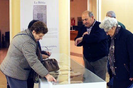 La exposición tiene una labor didáctica. / Marina Acuña