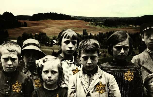 Detalle de la portada del libro,Mario escobar, niños judíos