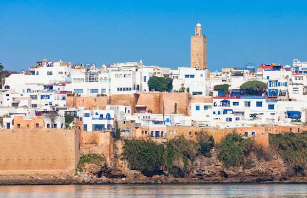 La ciudad de Rabat, en Marruecos.,rabat