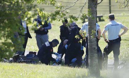 La policia francesa yaestá analizando los zulos. / Reuters.