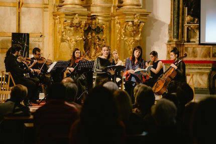 El público disfrutó con la selección y la ejecución de Ensemble Bohórquez. / Juan Pablo Serrano