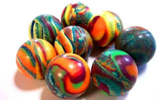 ,bolas cristal, bolas colores
