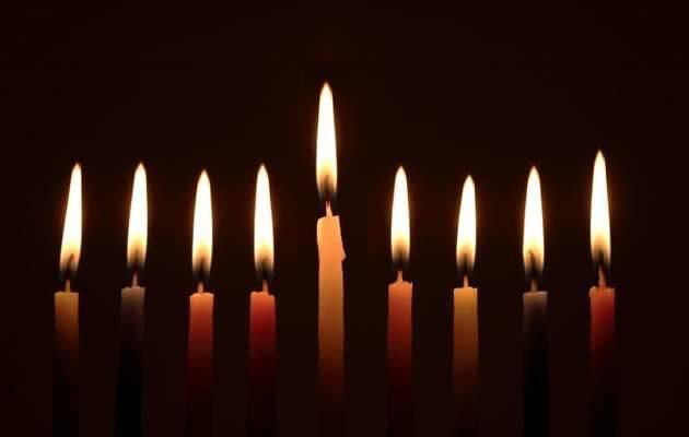 Velas de la Hanukkah,Velas, Hanukkah