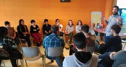 Dialogando en A Coruña. / GBU A Coruña