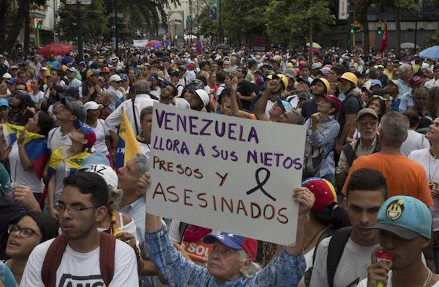 Venezuela, este 12 de mayo.,