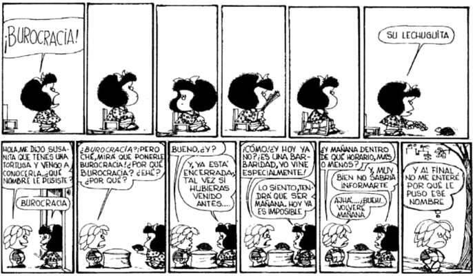 ,burocracia, quino mafalda