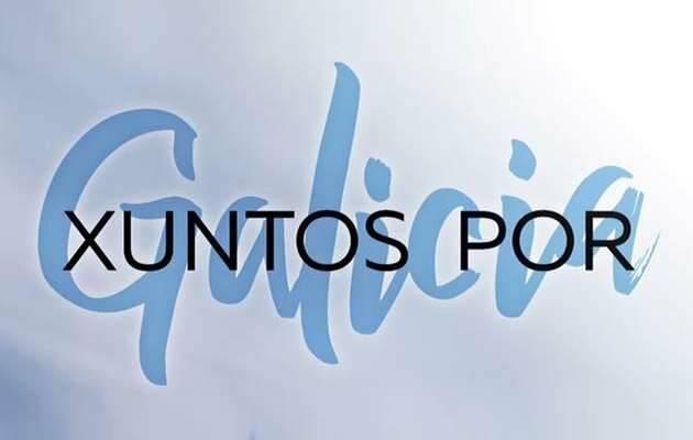 Logo del encuentro,Xuntos Galicia, evangélicos gallegos