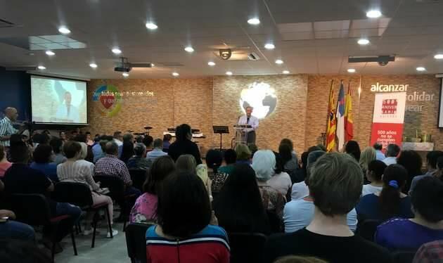 Culto Unido en Zaragoza,#500reforma, Zaragoza evangélicos