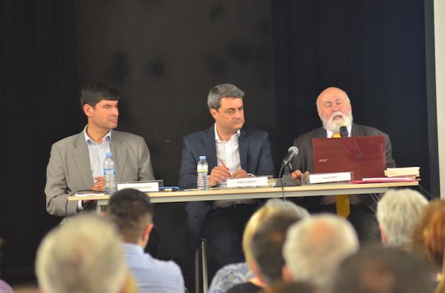Julio Díaz y Gabino Fernández explicaron como la reforma cambió la sociedad. ,