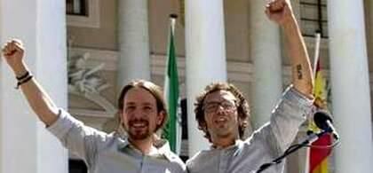 Pablo Iglesias con Kichi (imagen de archivo)