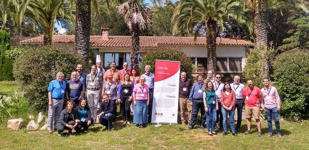 Participantes del I encuentro para directivos y empresarios de Tres-e. / Tres-e,