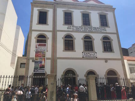 La iglesia evangélica de Marín está organizando diversos actos para conmemorar la reforma protestante.