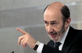 <p> Alfredo P&eacute;rez Rubalcaba, secretario general del PSOE.</p> ,
