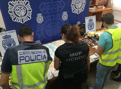 Agentes de la Policía nacional. / Europol,