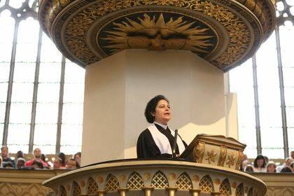 Predicación de la Rev. Najla Kassab.