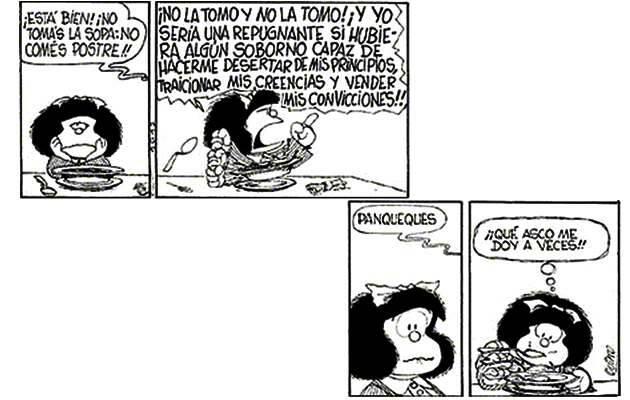 ,mafalda quino, principios soborno