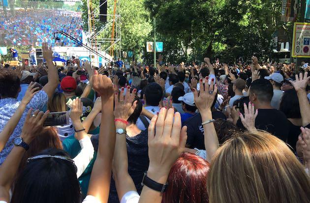 Miles de personas disfrutaron de la Fiesta de la Esperanza. / Carlos Fumero,