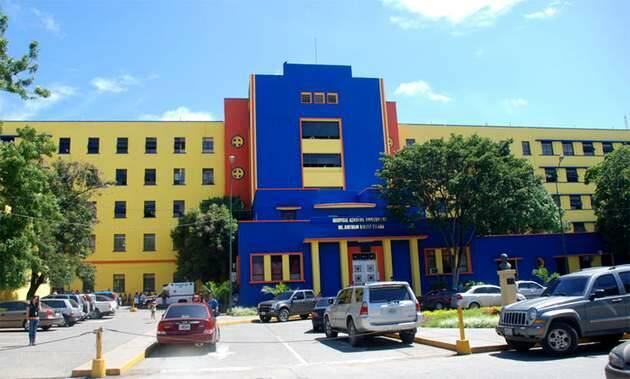 Fachada del Hospital Universitario Central Antonio María Pineda (Hcamp),Hospital Universitario Central Antonio María Pineda, Hcamp