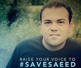 <p> Imagen de la campa&ntilde;a #SaveSaeed, pidiendo la liberaci&oacute;n del pastor.</p> ,