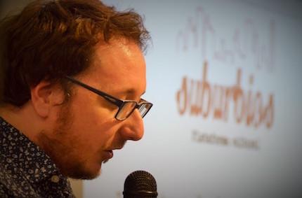 Daniel Jándula, el escritor de El reo. / Jordi Torrents