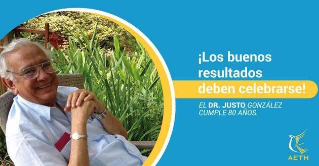 Los 80 años del Dr Justo L. González.,