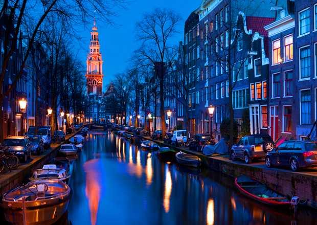 <p> La ciudad de Amsterdam</p> ,