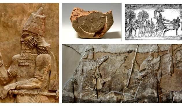 Algunas inscripciones con las que Mykytiuk ha verificado personajes bíblicos.,arqueología bíblica