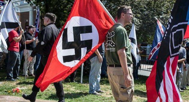 Manifestación de supremacistas blancos en Charlottesville. / ABCnews,