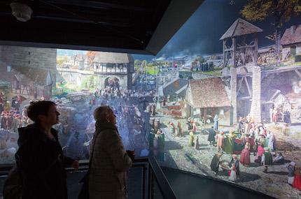 Miles de personas han visitado ya el recinto, que estará abierto durante los próximos cinco años. / Tom Schulze, ©asisi