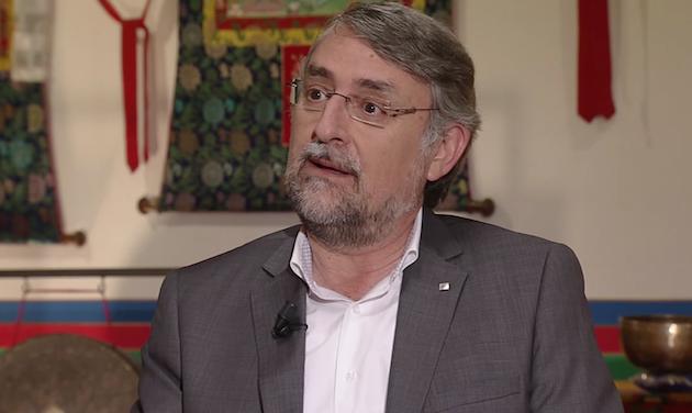 Enric Vendrell, en una entrevista en TV3. / TV3.cat,enric vendrell