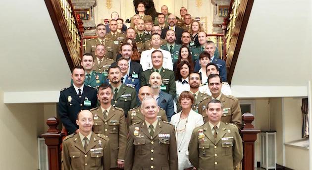 Participantes en el curso de Misiones de Paz de la ONU.,