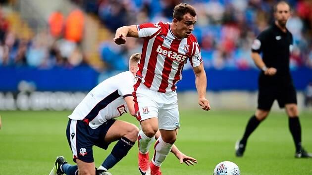 Stoke City es uno de los equipos ingleses patrocinado por una casa de apuestas. ,