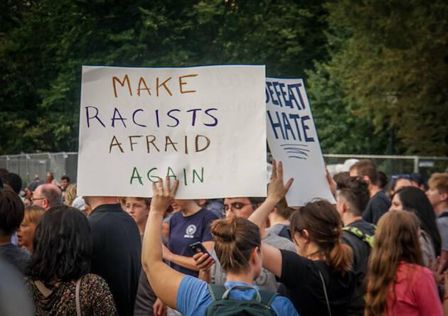 Vigilia en Washington tras lo sucedido en Charlottesville. / Ted Eytan, Wikipedia,
