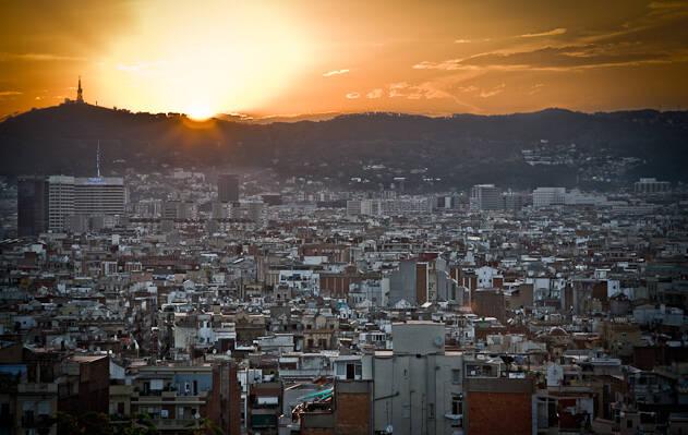 Vista de Barcelona./ Wikimedia,