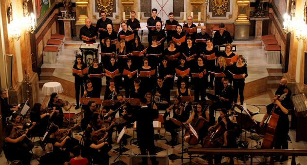 Coro y Orquesta de la Reforma Protestante, en Valencia.,