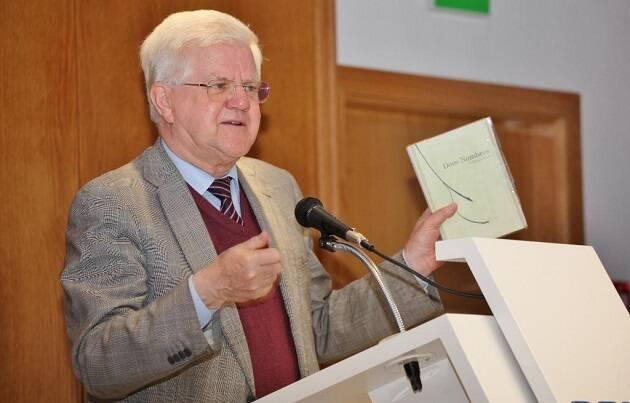 Stuart Park, en un momento de su intervención (foto de MGala),