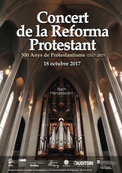 El Auditori de Barcelona será por un día 'Castillo fuerte' de Lutero
